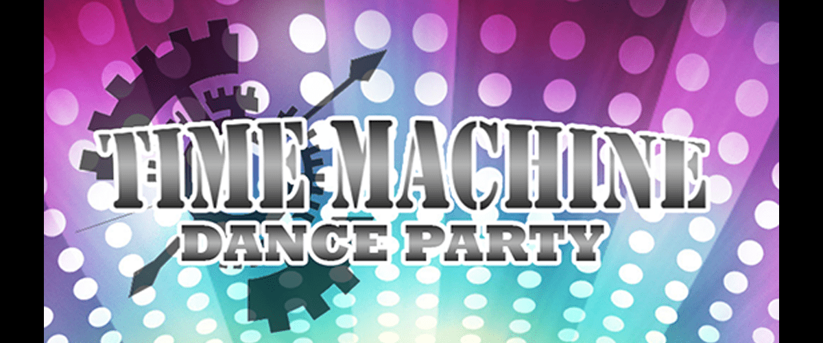 time machine dance party