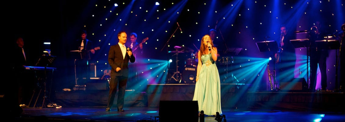 professional singing duet corporate events